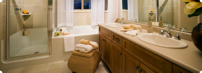 Bathroom Remodeling In CT Natural Stone Tiled Floors Vanities And - Bathroom remodeling southington ct